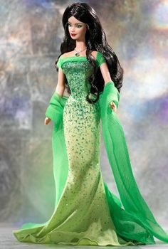 2003 August Peridot™ Barbie® Doll | Barbie Collector, Release Date: 3/1/2003 Product Code: B3416, $_