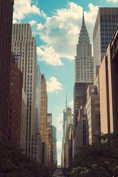 Cotton Clouds Manhattan, New York City, New York, USA