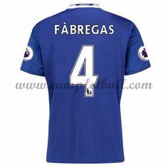 Chelsea Fotballdrakter 2016-17 Fabregas 4 Hjemmedrakt