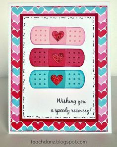 hand made get well cards - Google Search