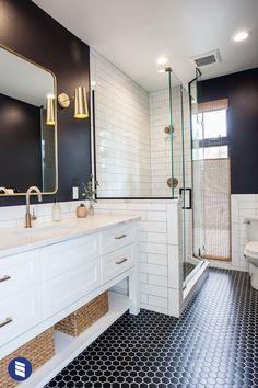 Home Interior Entrance .Home Interior Entrance Wood Bathroom, Bathroom Renos, Bathroom Flooring, Master Bathrooms, Modern Master Bathroom, Bathroom Remodel Small, Small Bathrooms, Pool House Bathroom, Masculine Bathroom