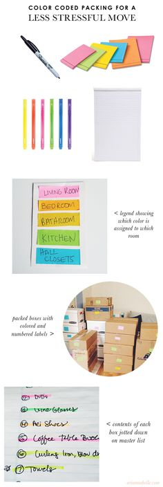 The Packing Strategy That Made My Move Easier and Less Stressful - Arianna Belle Organized Interiors | The blog