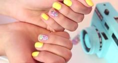 Decorated and Painted Nails by Bethany Mota
