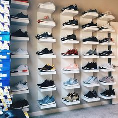 The Complete Beginners Guide To Sneakers Kid Closet, Closet Bedroom, Shoe Closet, Shoe Storage Shelf, Shoe Shelves, Shoe Wall, Shoe Room, Sneaker Storage, Hypebeast Room
