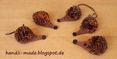handii made: Igel aus Wolle