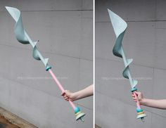 sleepyotter's finished spear