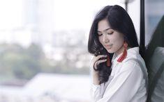 Télécharger fonds d'écran Isyana Sarasvati, 4k, indonésien chanteur, la beauté, la célébrité, le photoshoot