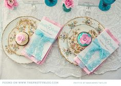 Pink & Turquoise Tea Party {Decor Inspiration} | {Be Inspired} | The Pretty Blog