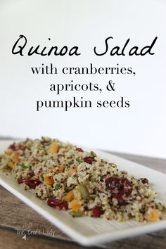 Quinoa Salad with Cr
