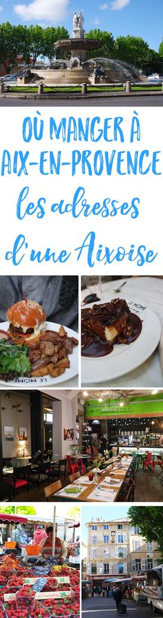 Vous prévoyez un petit weekend gourmand à Aix ? Ne manquez pas cette sélection de bonnes adresses à Aix-en-Provence, partagées par une Aixoise !