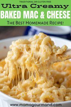 Baked Mac and Cheese - - Super creamy homemade Velveeta Mac and Cheese is our family favorite recipe. Easy, from scratch, baked mac and cheese is comfort food at its best! Pressure Cooker, gluten free, or stovetop directions included in recipe notes. Homemade Mac And Cheese Recipe Easy, Homemade Velveeta, Velveeta Recipes, Homemade Mac And Cheese Recipe Velveeta, Velveeta Macaroni And Cheese, The Best Mac And Cheese Recipe Ever, Super Cheesy Mac And Cheese Recipe, Ultimate Mac And Cheese, Macaroni Pasta