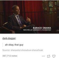 Didn't recognize him