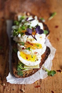 Easy Eggs on Toast b