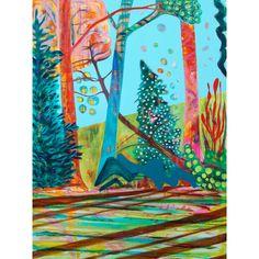 "I found this on www.meringueinc.ca; ""Good Morning"";  Original painting by Helen Billett;   Acrylic on Canvas;   36"" x 48""   1.5"" stretcher depth"