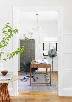 Emily Henderson Home Office Decor #home #style #interiordesign Home Office  Space, Home