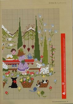 ru / Photos n ° 29 - 62 - Little Boy And Girl, Little Boys, Boy Or Girl, Cross Stitch Embroidery, Cross Stitch Patterns, Stitch Doll, Christmas Cross, Le Point, Creations