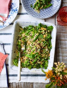 This spiced basmati rice salad recipe is a really versatile salad – try it alongside salmon, spice-rubbed chicken or pan-fried halloumi. Rice Salad Recipes, Veggie Recipes, Veggie Food, Fried Halloumi, Cooking Basmati Rice, Pescatarian Recipes, Side Recipes, Food Festival, Food Inspiration