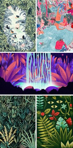 1 theme, 5 ways: the wild world of the jungle