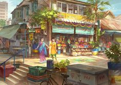 Little India Penang by FeiGiap.deviantart.com on @DeviantArt