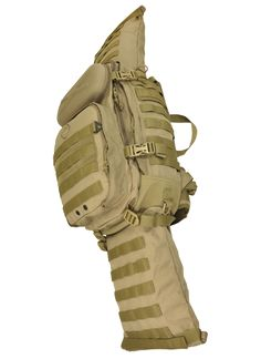 Hazard 4® California - Overwatch™ Rifle Carry Roll-Pack - Military, Law Enforcement, Rescue, Hardcore Travel | Backpack, Rifle Bag, Sling/Shoulder Bag