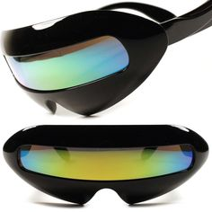 0a448a7cb02c Party Rave Alien Space Robot Costume Cyclops Futuristic Novelty Sunglasses  E43C  KISS  Futuristic Novelty.