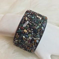 "Selling this ""Mixed Gemstone  Bracelet"" in my Poshmark closet! My username is: aclassycloset4u. #shopmycloset #poshmark #fashion #shopping #style #forsale #Jewelry"