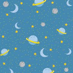Children's Spaces | Patterns for Babies | Art Print | Illustration | Poster | Decoração Infantil | Padronagem para Bebês | Ilustração para Impressão O Pequeno Príncipe - Minus
