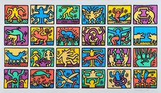 Rétrospective Keith Haring, The Political Line Musée d'Art Moderne de la ville de Paris