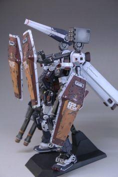 GUNDAM GUY: MG 1/100 Full Armor Gundam Ver. Ka [Gundam Thunderbolt] Damage - Customized Build