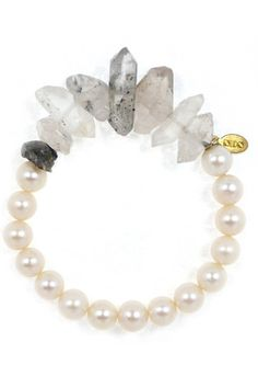 The Zen Way To Accessorize This Summer #refinery29  http://www.refinery29.com/rough-cut-jewelry#slide1