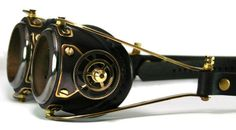 Make Your Own Steampunk Goggles | ... is actually from a DIY Tutorial so check it out and make your own