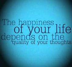 De-stress by changing thoughts...it can and does change life.