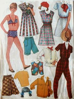 Старинные бумажные куклы - Ярмарка Мастеров - ручная работа, handmade