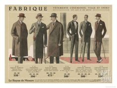 Coats and Suits for 1926 Giclee Print at Art.com