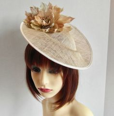 Beige Wedding, Fascinators, Ladies Day, Mother Of The Bride, Special Occasion, Trending Outfits, Unique Jewelry, Etsy Shop, Shapes