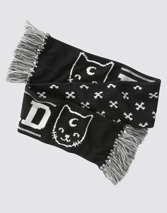 Fuun Koneko Scarf, Drop Dead Clothing