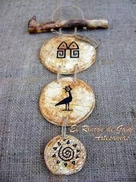 Billedresultat for macetas en pasta piedra Crafts To Sell, Diy And Crafts, Arts And Crafts, Paper Crafts, Clay Tiles, Ceramic Clay, Mundo Hippie, Pasta Piedra, Shabby Chic Crafts