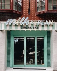 Milk & Cream Cereal Bar, New York
