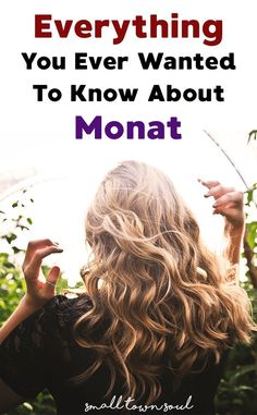 Wondering about that crazy new hair care line called Monat? Here's everything you ever wanted to know about it!