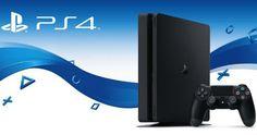 Sony PlayStation 4 Slim Console + DualShock 4 Controller