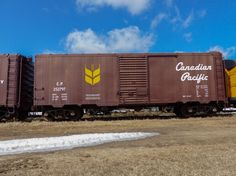 Canadian Pacific Railway boxcar