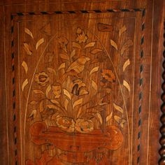 Dutch Marquetry Inlaid Cabinet