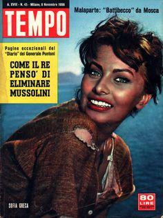 """Sophia Loren: """"Greek Sophia"""" (8th November 1956)."""
