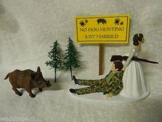 Wedding Reception Party Camo Wild Hog Boar No by RedneckWeddings4u