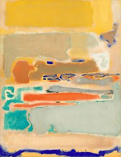 Mark Rothko, Multiform, 1948 oil on canvas Abstract Expressionism Action Painting, Painting Art, Modern Art, Contemporary Art, Art Et Illustration, Inspiration Art, Art Moderne, Jackson Pollock, Art Graphique
