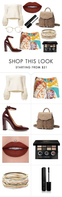 """* ANOTHER ONE by bOO *"" by boo-sandra on Polyvore featuring Trina Turk, Gianvito Rossi, Bobbi Brown Cosmetics, Kendra Scott and Marc Jacobs"
