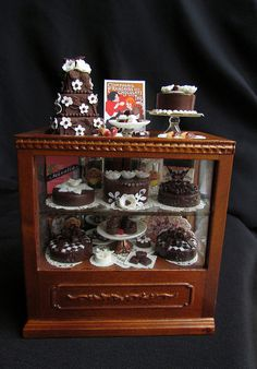 Chocolate shop counter by goddess of chocolate, via Flickr