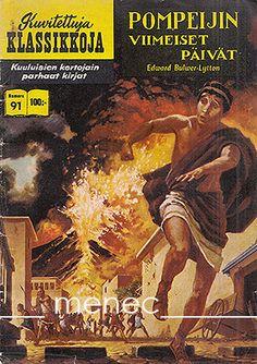 Kuvitettuja Klassikkoja -sarjakuvalehti ilmestyi Suomessa  1957 - 1966