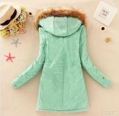 zimná bunda dlhá, 11 farieb