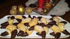 Karácsonyi kókuszos kiflik French Toast, Pudding, Breakfast, Drinks, Food, Breakfast Cafe, Beverages, Essen, Puddings